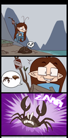 ESO comic: killercrabs! by MakiLoomis