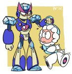 Freeze Man and Ice Man by kenshinmeowth