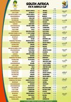 FIFA world cup 2010 schedule by brlin