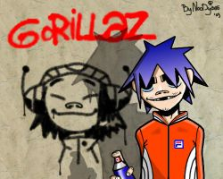 2D AND GRAFFITI by noody666