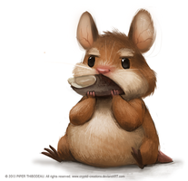 DAY 295. Just a hamster by Cryptid-Creations