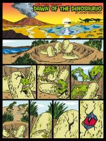 DAWN OF THE DINOSAURIO by javierhernandez