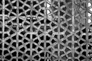 Grating. Monochrome. by johnwaymont