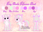 Reference sheet: Rosy Cheeks by Veemonsito