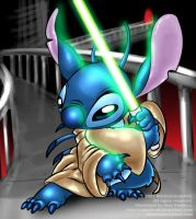 Jedi Stitch remake by Captain-E0