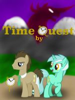 Commission: Time Quest -Title Poster- by BlackDragon-Studios