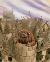 Ludo in Goblin Town by gapriest