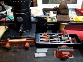 Work in Progress The Bookbinder Tools by skphile