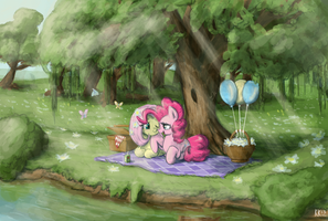 Under a Tree by King-Kakapo