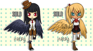 Harpy Adopts (2): Closed! by SyT-Adopts