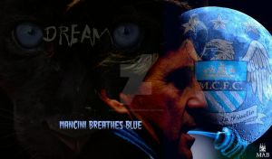 Mancini Breathes Blue by Kippaxmaineroad