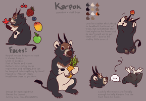 Commission: Karpok by FoxedFerret