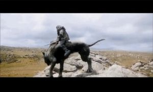 Gif: Thorin Oakenshield- Shoot the warg-look by Goldie4224