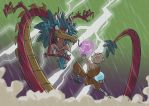 Theft of the Dragon's Pearl by tyrannus