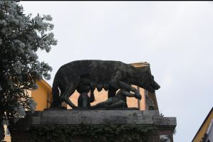 Romulus and Remus by enframed