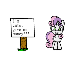 Sweetie Want by AnAngryDictionary