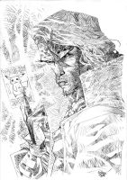 pencils for inks sample 5 by rogercruz
