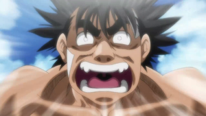 Ippo the super saiyan by laidler123
