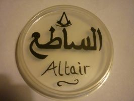 Altair in Arabic by jaderotaski
