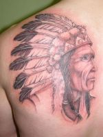 Indian Head by Inkcastle