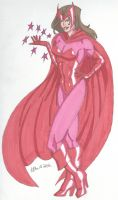 The Scarlet Witch- Witchy Woman by RobertMacQuarrie1