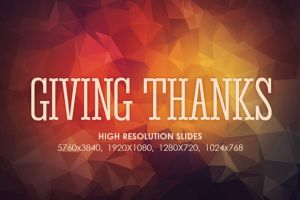 Giving Thanks Screen Slides JPEGS by loswl