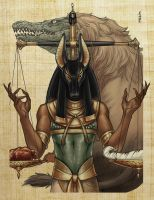 Classic Mythology- Anubis by MelUran
