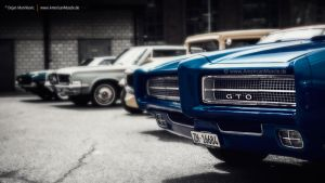 classic car meet by AmericanMuscle