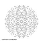 Free Mandala Line Art Day 2 of 10 by Mandala-Jim