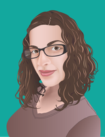 Vector Self Portrait by mariapiva