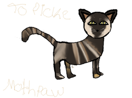 Mothpaw - Gift for Picke by SilverkitLilly