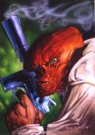 The Red Skull by DaveDeVries