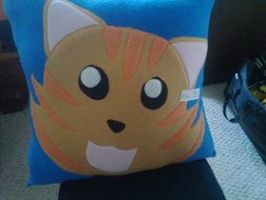 Custom Kitten Pillow by RedAlaina