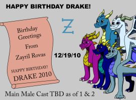 Birthday Gift to Drake2010 by Rovas117