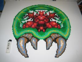 Metroid Bead Sprite 'final' by Zakkyy