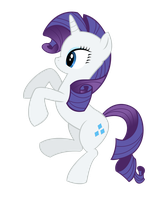 Prancing Rarity by Dein-Albtraum
