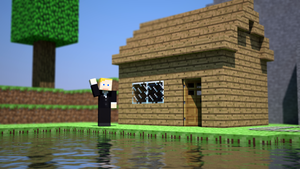 Minecraft 3D test by Phantoml994
