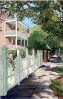 Sidewalk in Charleston by Built4ever