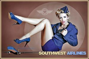 Southwest Airlines by abclic