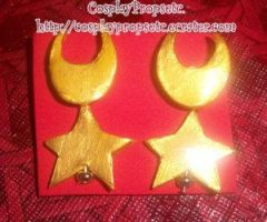 SailorMoon's Eternal Earrings by CosplayPropsEtc