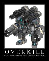 Mecha-overkill by High-Inquisitor-Kill