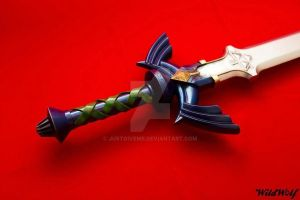 Mastersword V2 for m'y friends Puck ans Wildwolf by JustGiveMe