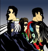 JLA - First Color by RightHandOfDoom