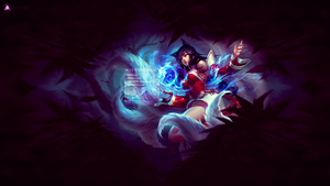 Ahri Wallpaper by Paulikaiser