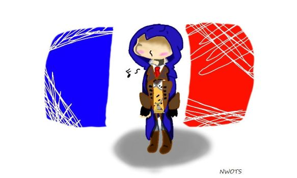 Chibi!Arno by Neonwolf-of-the-sky