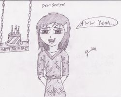 Dewi Birthday Picture by VictriaOfArgus