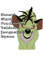 Shenzi Shirt Decal by BrainyxBat