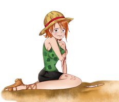 Nami: Hand Island no Bouken by Megalow