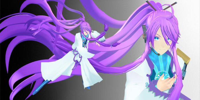 YS Gakupo Kamui - model download (UPDATED) by YamiSweet