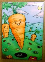 Carrot Card by Sukeile